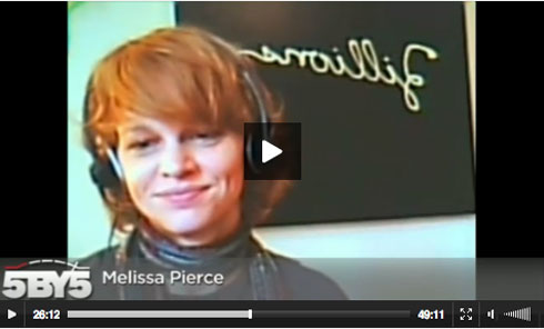 Melissa Pierce, filmmaker, on The Big Web Show.