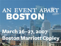 An Event Apart Boston 2007