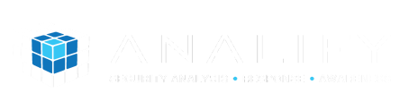 The name of this company is Analify. It appears to be a synthesis of analyze and verify.