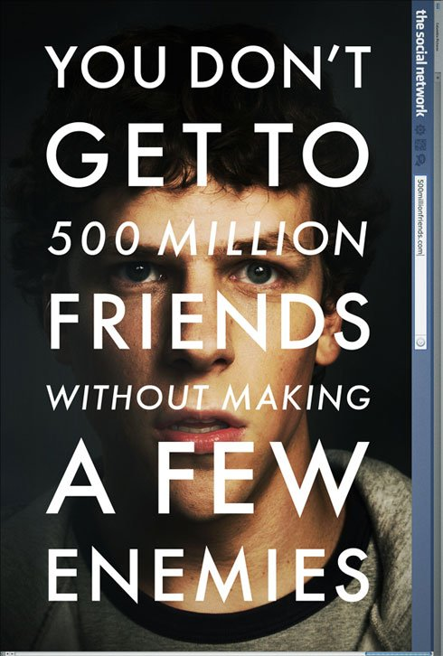 The Social Network, a David Fincher film.